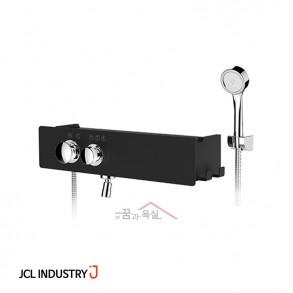 JCL 선반형 샤워수전 J ONE-1000 럭셔리 (무광블랙)