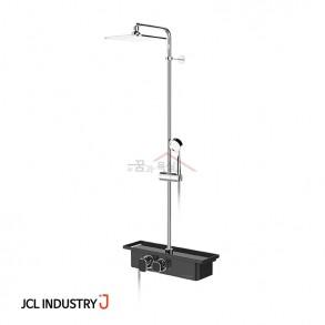 JCL 선반형 해바라기샤워기 스마트 (블랙) / 3way