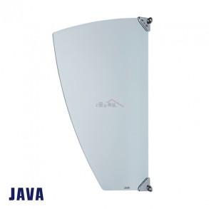 JAVA 소변기 파티션 강화유리 TUP200 (부속포함)