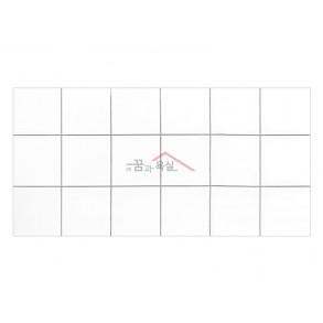[벽 타일] 300×600 / DB-3652 / 화이트 / 유광