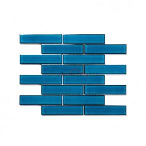 [모자이크 타일] 32.5×145 (295×280) / 32123T / 크리스탈 블루 / 유광