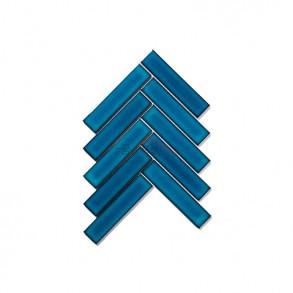 [모자이크 타일] 32.5×145 (209×247) / 32123V / 크리스탈 블루 / 유광
