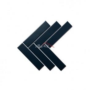 [모자이크 타일] 45×195 (204×280) / 19420VM / 다크 블루 / 무광