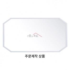 슬림 각면 거울 1200×600 / 화이트